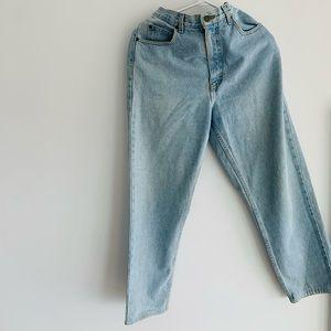 Light blue Eddie Bauer Jeans.